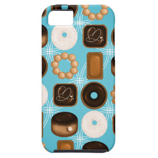 Donuts Blue iPhone 5 Covers