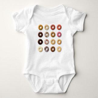 Donuts breakfast treat dessert baby bodysuit