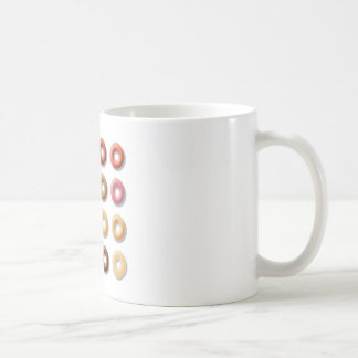 Donuts breakfast treat dessert coffee mug