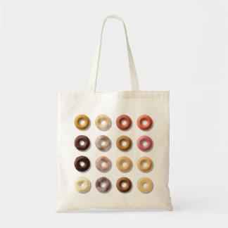 Donuts breakfast treat dessert tote bag