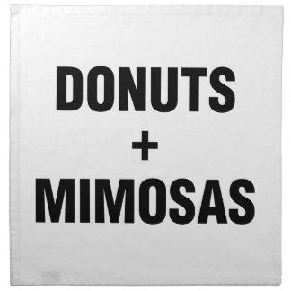 Donuts & Mimosas Napkins