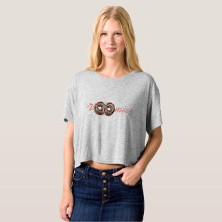donuts roomies cool woman t-shirt