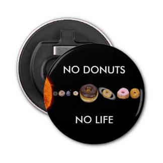 Donuts solar system bottle opener