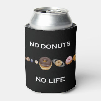 Donuts solar system can cooler