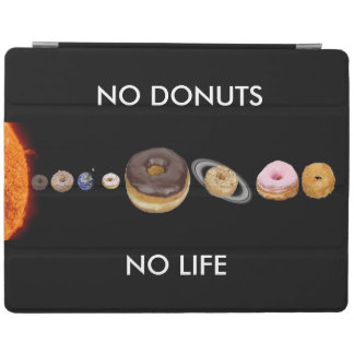 Donuts solar system iPad cover