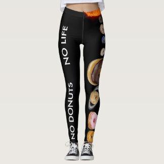 Donuts solar system leggings