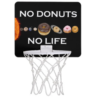 Donuts solar system mini basketball hoop
