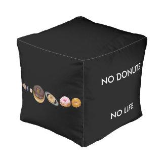 Donuts solar system pouf