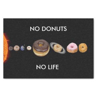 Donuts solar system tissue paper