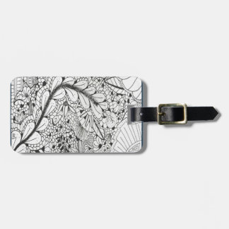 DOODLE 013 LUGGAGE TAG