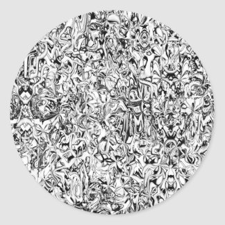 Doodle 55 round stickers