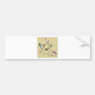 doodle bumper sticker