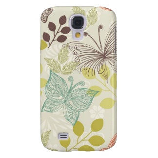 doodle butterflies iphone 3 case