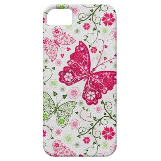 doodle butterflies iPhone 5 cover