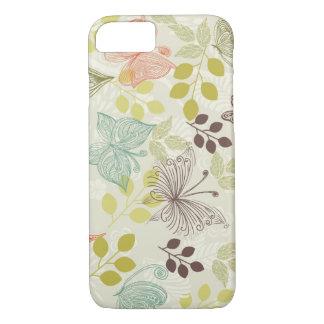 doodle butterflies iPhone 7 case