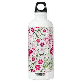doodle butterflies SIGG traveller 0.6L water bottle