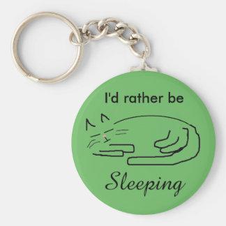 """Doodle Cat"" Keychain"