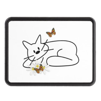 Doodle Cats Trailer Hitch Cover