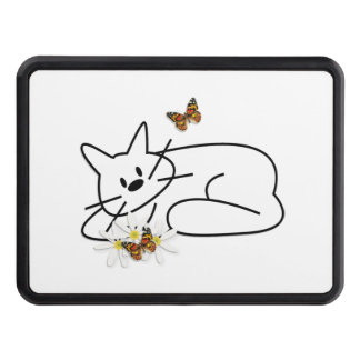 Doodle Cats Trailer Hitch Covers
