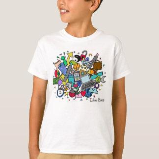 Doodle Cloud Boy's T-Shirt (Color)