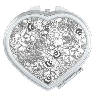 Doodle Compact Mirror