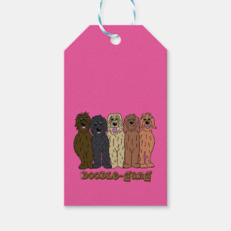 Doodle course gift tags
