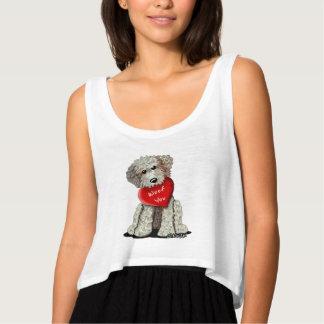 Doodle Dog Woof You Singlet