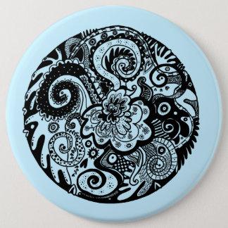 Doodle Dreams Mandala badge
