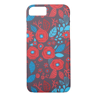 Doodle floral pattern iPhone 8/7 case