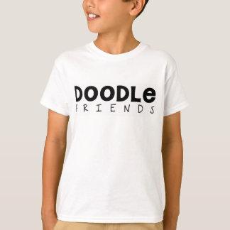 Doodle Friends Kids T-Shirt (Text Only)