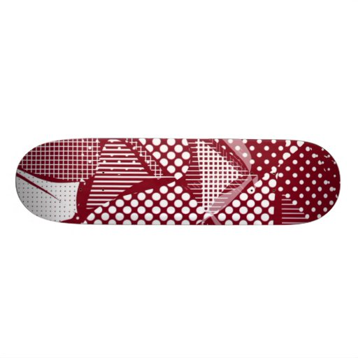 Doodle Fun 06 red Skateboards