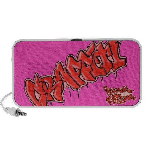 DOODLE GRAFFITI spangleMASSIVE Mini Speaker