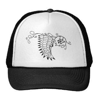 Doodle Mesh Hat
