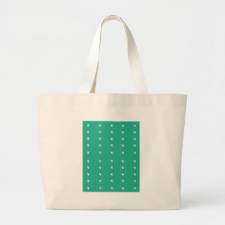 Doodle Hearts in Turquoise Bags