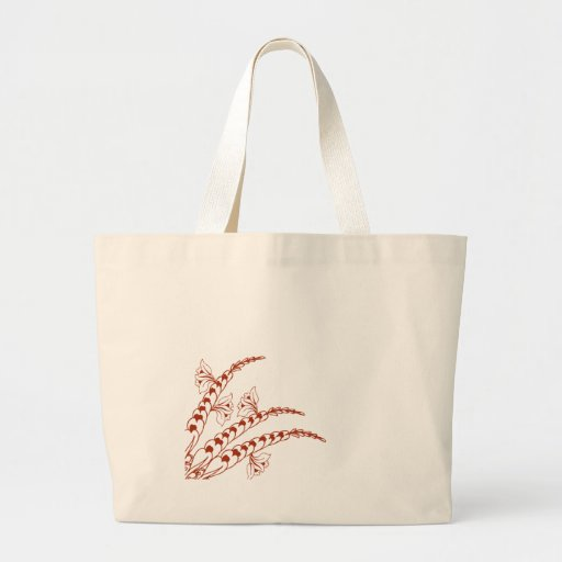 Doodle Henna Pattern Tote Bags