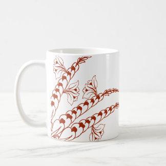 Doodle Henna Pattern Coffee Mugs