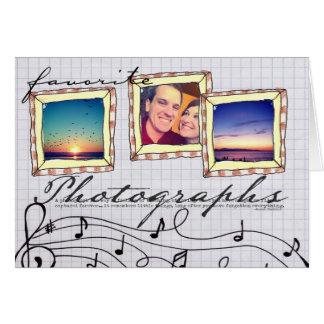 doodle instagram photo card