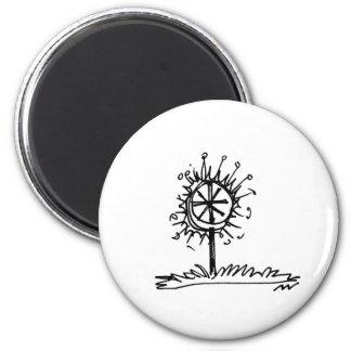 doodle_IT logo coaster 6 Cm Round Magnet