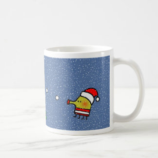 Doodle Jump Christmas Mug