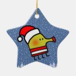 Doodle Jump Christmas Star Christmas Ornaments