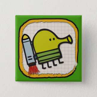 Doodle Jump Icon Square Button