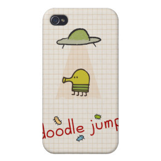 Doodle Jump UFO  iPhone 4/4S Covers
