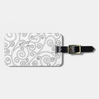 Doodle Luggage Tag