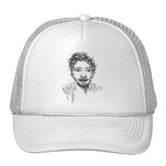 Doodle Man Trucker Hat