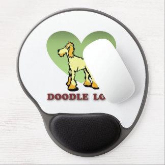 """Doodle Mouse Pad """"Doodle Love"""""""
