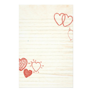 Doodle Notepad Love Letter Stationery