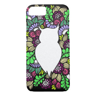 Doodle Owl Apple iPhone Phone Case
