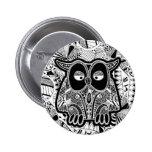 doodle owl button