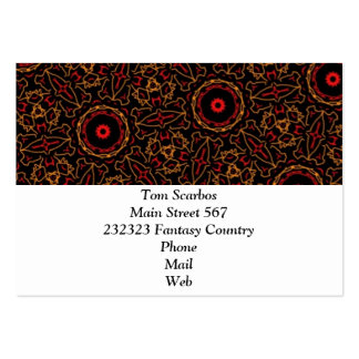Doodle Pattern 13 Business Card