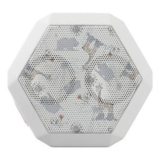 doodle pattern 2 white boombot rex bluetooth speaker